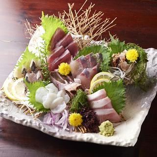 新鮮の魚を自信をもって提供してます!!