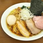 麺処 有彩 - '17.04特製あっさり醤油