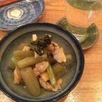 旬菜 すがや - 蕗とあさりの炒め煮