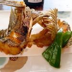 平野鮮魚 - 本日のお魚(あらかぶ)の唐揚げ¥750。外はパリッ、中はふんわりです。