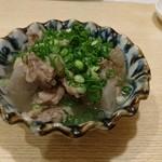 太閤うどん - 国産牛すじ煮込み(480円)
