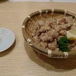 太閤うどん - なん骨唐揚げ(480円)