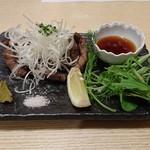 太閤うどん - 上タン塩焼き(980円)