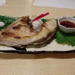 太閤うどん - 島根産ブリカマの塩焼き(780円)