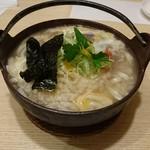 太閤うどん - 牛おじやうどん(900円)