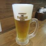 手打そば 三咲 - 生ビール
