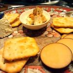 65987704 - チーズの盛り合わせ