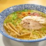 貝だしらぁ麺 ひばな - 貝だしらぁ麺(塩)790円