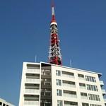 65989904 - テラス席からの東京タワー