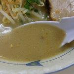 らぁ麺 波 - 塩スープは旨い!!!
