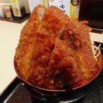 明治亭 - ソースかつ丼