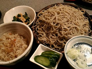 うさぎ庵 - 美味しい蕎麦でした。