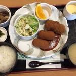 TANAKA - 料理写真:680円の日替わりランチ