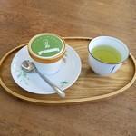 65992345 - 「八万寿 緑茶アイス」