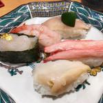 金沢まいもん寿司 - 加賀百万石握り1300円