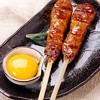 地鶏炭火串焼家 鳥・こまち - 料理写真:当店自慢の地鶏月見つくね