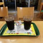 モスバーガー - 「アイスコーヒー」350円