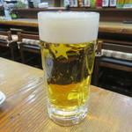 赤富士 - 生ビール(中)