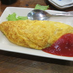 赤富士 - チーズオムレツ