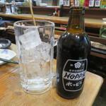 赤富士 - 黒ホッピーセット