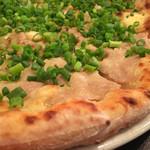 ナポリピッツァ Pizzeria la Rossa - 塩豚と青ネギのジャポネーゼ