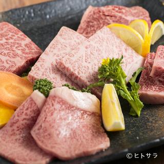 4種類の自家製だれで、くせになる味わい『おまかせ盛皿』