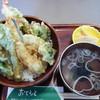 岩手山サービスエリア(上り線)レストラン - 料理写真:季節の天丼