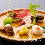 精進料理 醍醐 - 愛らしい見た目に、心が和む『季節の八寸盛り合わせ』