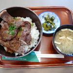 岩手山サービスエリア(上り線)レストラン - 牛ロース丼