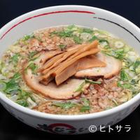 あじさい - 極背脂拉麺 (各塩・正油・イカ墨)
