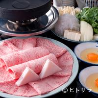 いし橋 - 『すき焼き』(霜降り/サーロイン)
