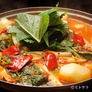 種類豊富なからだもこころもほっこりする「鍋料理」