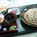 蕎麦正 - 源流そば定食