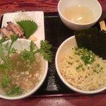 塩らー麺 本丸亭 - 塩つけ麺