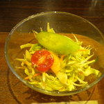 キャベツ&コンドーム - 野菜サラダ