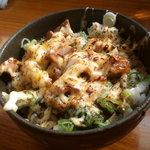 初代かしわ屋 - 炙りチャーマヨ丼(これ最高!)