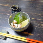 6600312 - 小鉢(貝と海ぶどう)
