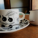 ミルコーヒー&スタンド - アラビア製のカップ