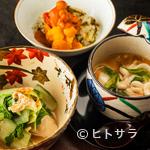 日本料理 TAKEMOTO - 伝統に則って展開する正統派の懐石