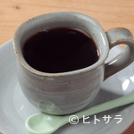 シャーレ水ヶ浜 - 地下水をつかって入れる、香り高い『ブレンドコーヒー』