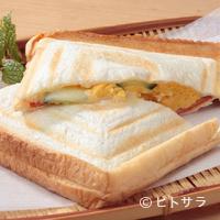 シャーレ水ヶ浜 - とろ〜りとろけたチーズがおいしさのアクセント『ホットサンド』