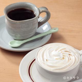 地下水で入れられる、軟らかな香り高きコーヒー