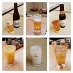 66001507 - サッポロクラシック/生ビール200円/ノンアルコール/オレンジ/カルピス/ジンジャーエール 2017/04
