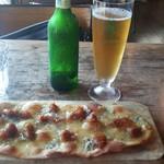 ラ・メゾン・アンシェンヌ - ブルーチーズといちじくのピザ