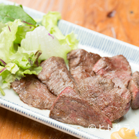 骨付鳥 蘭丸 - 柔らかくさっぱり風味の『讚岐 カットステーキおろしポン酢』
