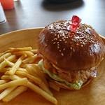 グレイビーバーガー - ベーコンチーズエッグバーガー