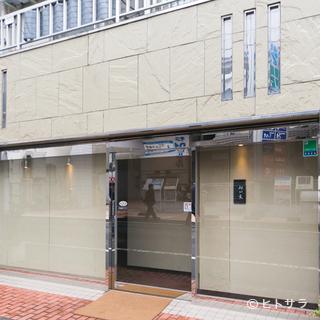 駅近!スタイリッシュな外観の日本料理店です