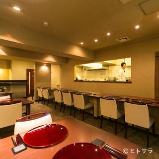 日本料理らしく、丁寧に仕上げられたお料理を楽しめます