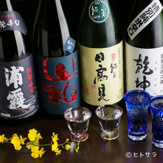 地元の日本酒を用意して、皆様のお越しをお待ちしております!