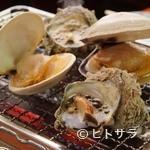 貝料理専門店 磯ばし - 貝の浜焼き